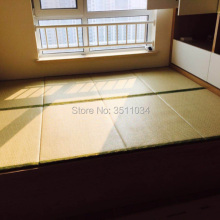 Абсолютно японский традиционный складной соломенный коврик татами матрас коврик для йоги спящий татами коврик Натуральный Орех пальма