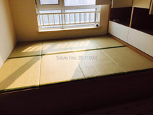 Brand New New Japanese Traditional Foldable Floor Straw Mat Tatami Mattress Mat For Yoga Sleeping Tatami Mat Natural Connut Palm(China)