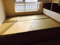 Brand New New Japanese Traditional Foldable Floor Straw Mat Tatami Mattress Mat For Yoga Sleeping Tatami Mat Natural Connut Palm