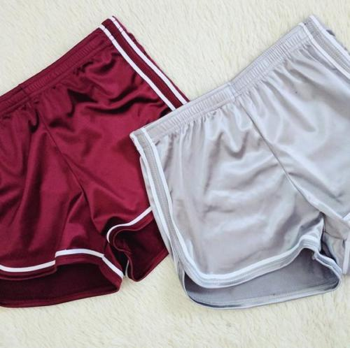 Fashion Women Casual Running Sports Shorts Gym Workout High Waist Slim Fitness Waistband Summer Clothes For Girls Female Sets