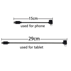 Image 1 - Spark/Mavic Remote Controller Data Connected Cable Line Wire To Mobile Tablet Micro USB TYPE C Connector For Iphone/Android
