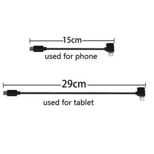Image 1 - Spark/Mavic Remote Controller dane podłączony przewód kablowy do mobilnego tabletu Micro USB TYPE C złącze dla Iphone/Android