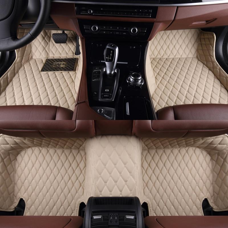 Tapis de pied de voiture pour Skoda FABIA NJ3 COMBI NJ5 KAROQ NU5 KAKODIAQ NS7 sans odeur XPE 3d 5d Auto tapis de sol de voiture