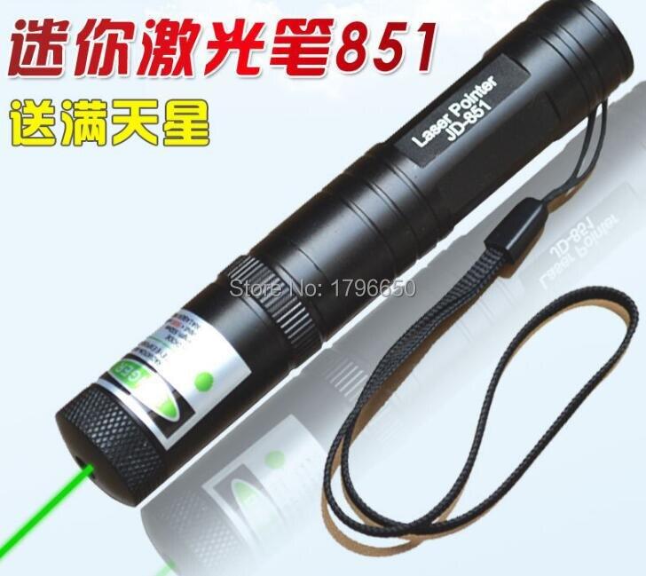 Military Portable 3 Mile Range 532nm 10W 100000m Green Laser Pointer Pen Dot Visible Beam JD