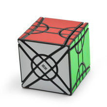 Moyu Fisher Time Wheel Cube 3x3x3 Magic Cube Strange Shape Cube Creative Puzzle Speed Cubes Educational Toys Gifts for Kids square 1 sq1 3x3x3 speed magic cube puzzle cubes toys for kids