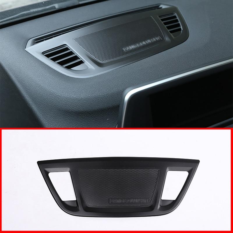 For BMW X1 F48 2016-2019 X2 F47 2018 2019 Aluminum Alloy Center Control Console Dashboard Speaker Cover Trim Accessories