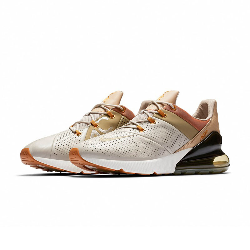 finest selection c9b38 e5062 Original NIKE Air Max 270 Premium Men s Running Shoes Lace Up Comfortable  Breathable Jogging Durable Cushioning Sneakers AO8283-in Running Shoes from  Sports ...