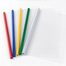 5 piece Report Cover Spine Bar Holder File Folders a4 sheet protectors Plastic folder sheet protectors цена