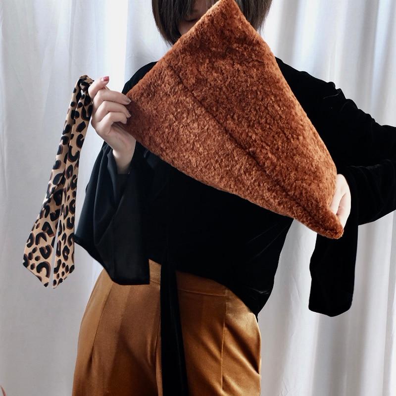 Épissage Printemps 2019 Embrayages Femme Ruban Tissu super Brun Seabob Lm087 Nouveau Shown Jour As Laine Douce Léopard Été Zipper Couleur FExww7q
