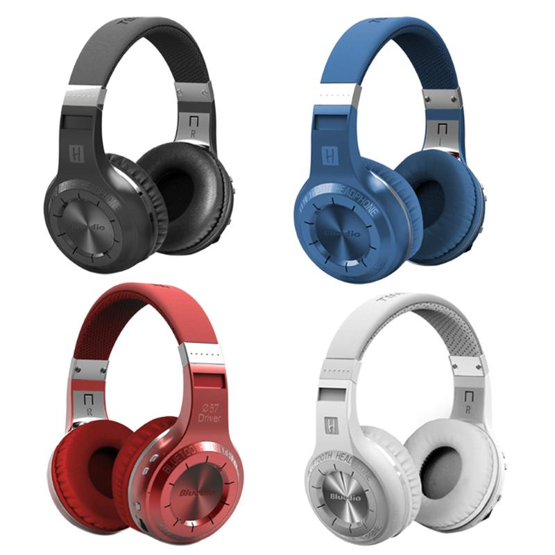 Casque stéréo sans fil Bluedio Turbine ouragan H Bluetooth 4.1