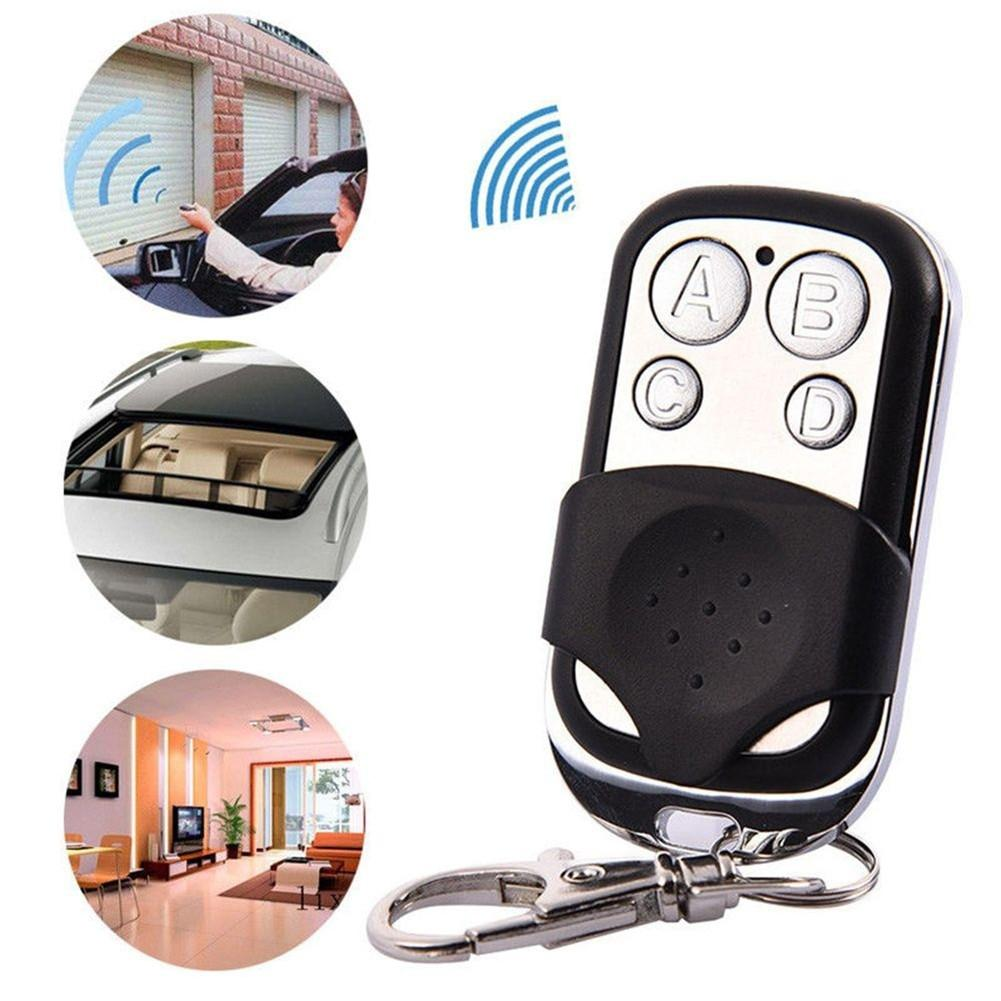 New Remote Control 433mhz Electric Cloning 4 Channel Universal Copy Code Gate Garage Door Opener Key RF Fob Universal-in Remote Controls from Consumer Electronics