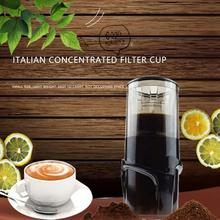 Portable Outdoor Car Coffee Maker Mini Handheld Coffee Machine Manual Espresso Maker Hand Pressure Coffee Filter Cup For Home