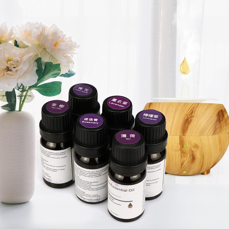 10Ml Essential Oils For Aromatherapy Machine Humidifier Essential Oil Lavender Tea Tree Rosemary Lemon Grass Orange Flower Mint