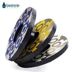 3 шт./лот 100 мм полимерные 4-дюймовые алмазные турбо шлифовальные диски для шлифования и полировки камня