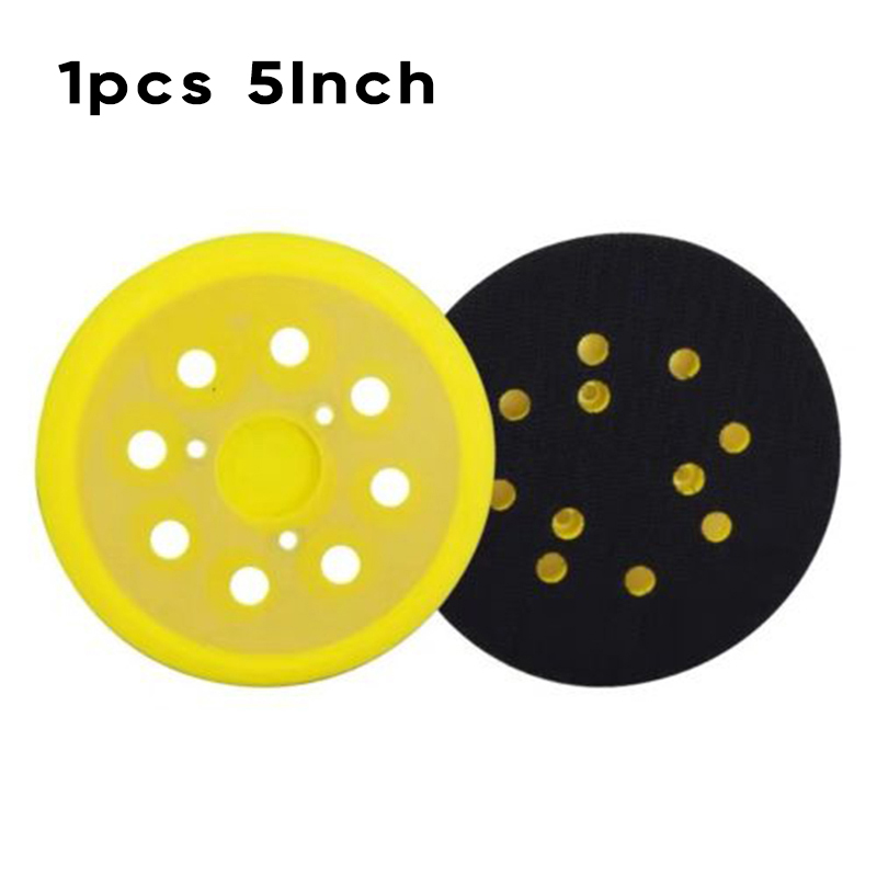 1PCS 125mm Sanding Discs Wear-Resistant Sanding Pads For Makita BO5401 M9202B R11PCS 125mm Sanding Discs Wear-Resistant Sanding Pads For Makita BO5401 M9202B R1