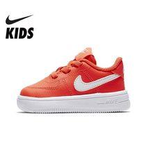 79a9b9b5ac NIKE niños fuerza 1 18 (TD) llegada de un nuevo niño y niña zapato de  correr niño cómoda deportes zapatillas transpirable de dep.