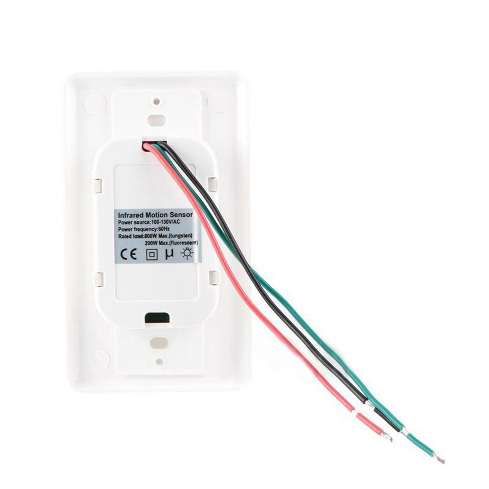 Adeeing US Plug 110V Smart  Infrared Motion Sensor Light Lamp Switch For Home Office Supplies
