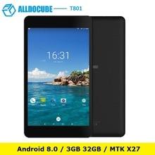 ALLDOCUBE T801 4G Phablet 8.0 inch 1920*1200 Android 8.0 MT6797W X27 Deca Core 3GB RAM 32GB ROM Dual Carmea 5500mAh Tablet PC