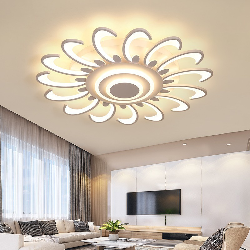 Ceiling Acrylic For Led Living Room Bedroom New Lamp Lights ED9WHI2