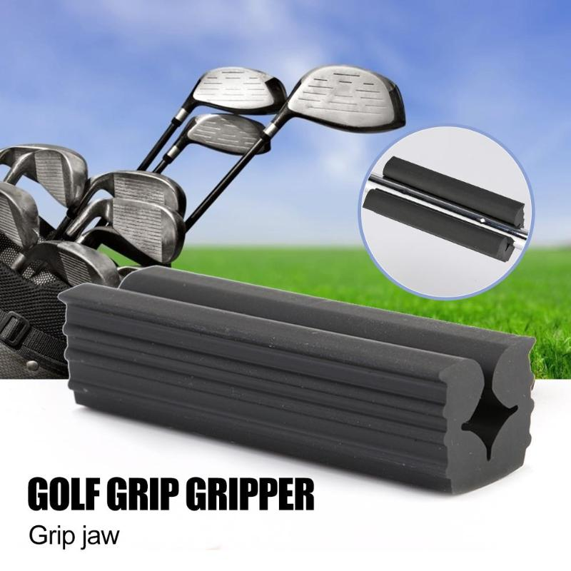 Plastic Golf Club Grip Vice Clamps Replacement Tool Wedging Clamp Anti-slip Replacement Supplies For Outdoor Golf Accessories