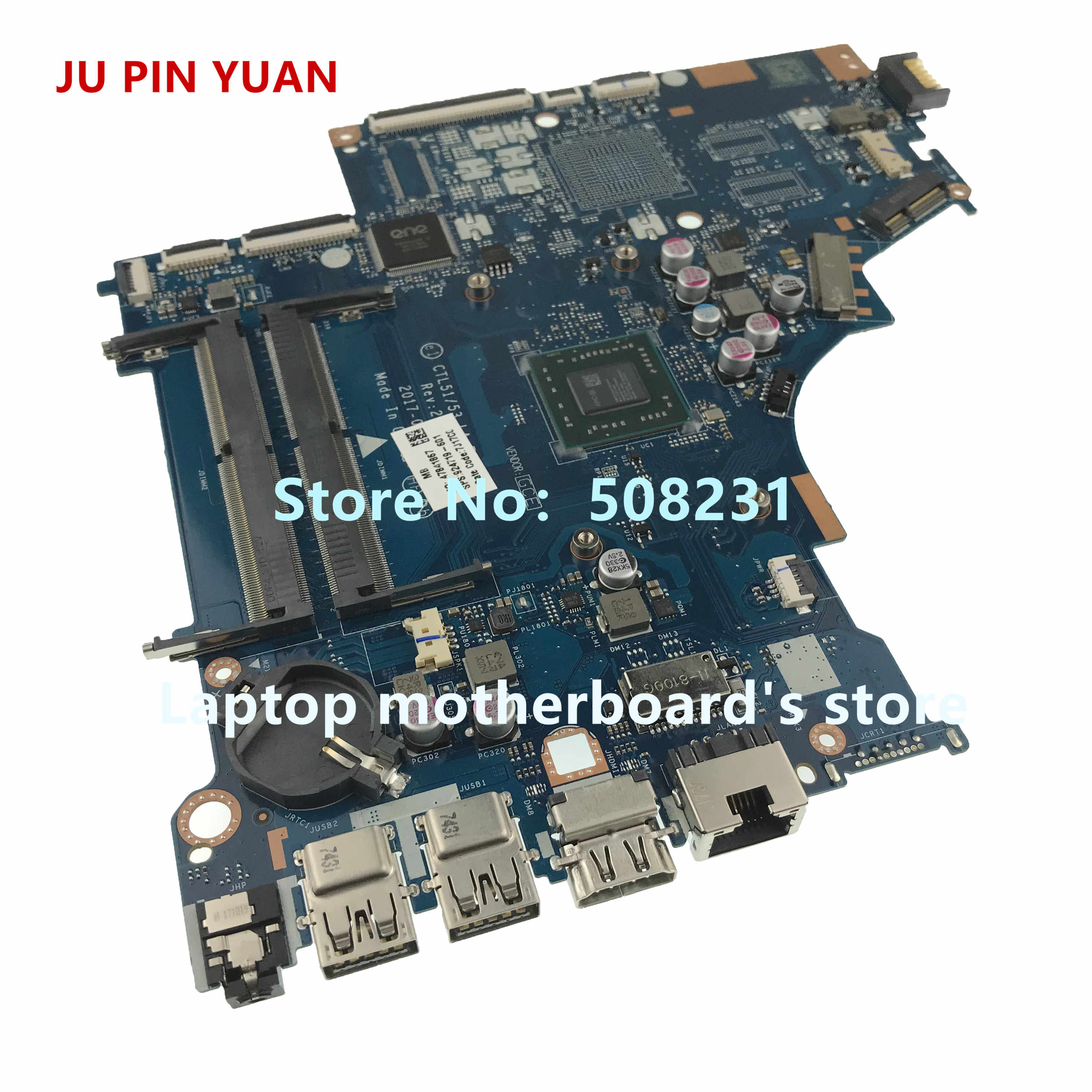 ג 'ו סיכה יואן 924719-601 CTL51/53 LA-E841P mainboard עבור HP מחשב נייד 15-BW 15-BW080NR מחשב נייד האם A9-9420P באופן מלא נבדק