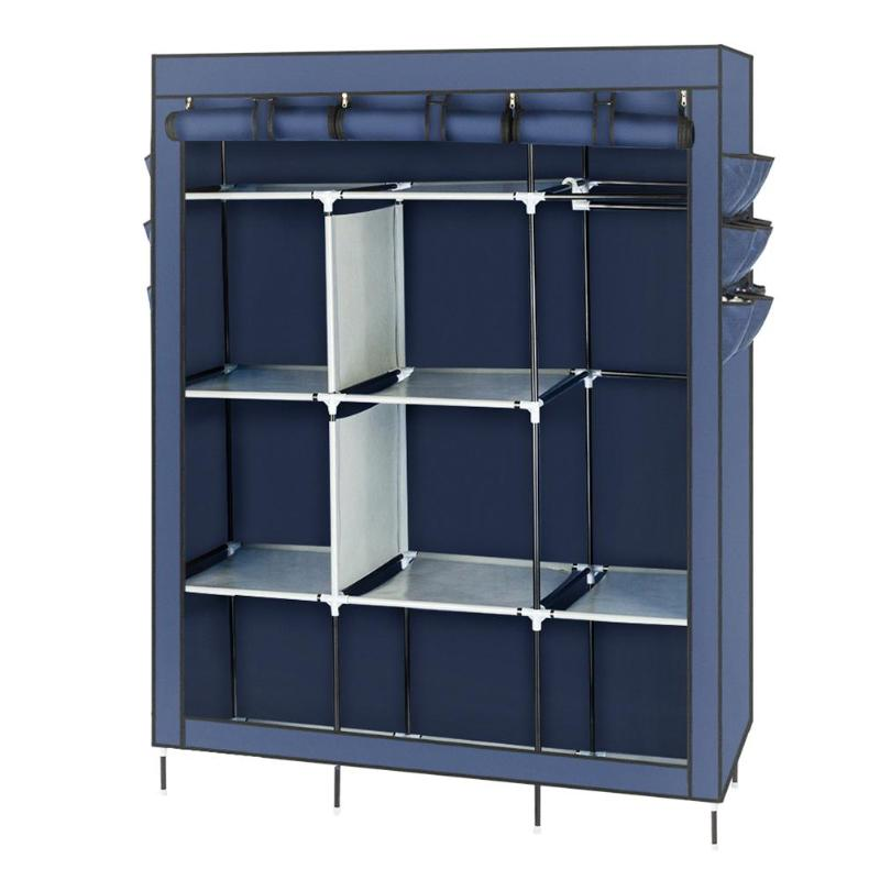 Non-woven Fabric Assembled Cloth Wardrobe Portable Storage Clothes CabinetNon-woven Fabric Assembled Cloth Wardrobe Portable Storage Clothes Cabinet
