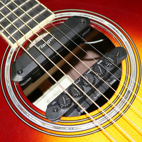 R2 Guitar Resonance Pickup Acoustic Guitar Magnetic Reverb Chorus Delay Adjust Sound Pick up for Guitar Lover