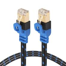 Ethernet Cable RJ45 CAT7 LAN Patch Network Flat Cables Cord  RJ45 8P8C Male to Male For Router Switch 5m/8m/10m/15m
