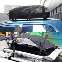 130X100X45cm Car Roof Top Bag Roof Top Bag Rack Cargo Carrier Luggage Storage Travel Waterproof SUV Van for Cars