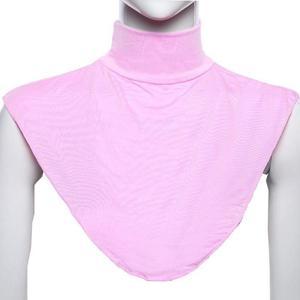 Image 5 - Muslim Women Shawls Scarf All Cover Scarf Shawls Casual Islamic Turtleneck  Hijab Neck Cover Collar Wrap Apparel Ramadan Arab