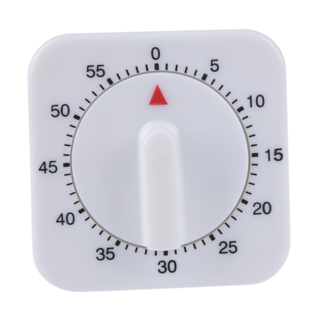 Beminnelijk 1 Pcs Mechanische Kookwekker Vierkante Koken Timer Game Countdown Timer Stop Wekker Tellen Countdown Alarm Met Magneet Verkoop Van Kwaliteitsborging
