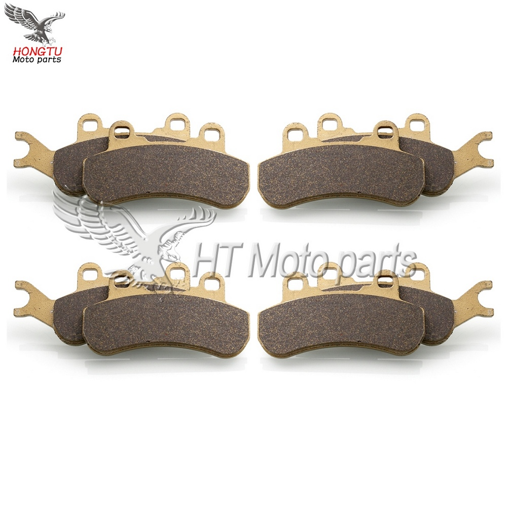 Motorcycle Front Rear Brake Pads For Can Am Can am BRP Maverick X3 925 2017 2018