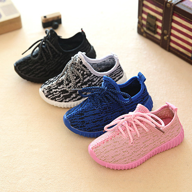 Kids Toddler Sneakers Air Mesh Breathable Children Shoes's For Girls Boys Black Ultra Light Comfortable Shoes Pink Cute Girl