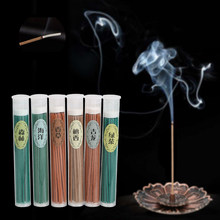 50pcs Indoor Natural Incense Burner Sticks Sleep Health Incense Stick Aroma Air Freshener Sandalwood Rose Green Tea Aromatherapy(China)