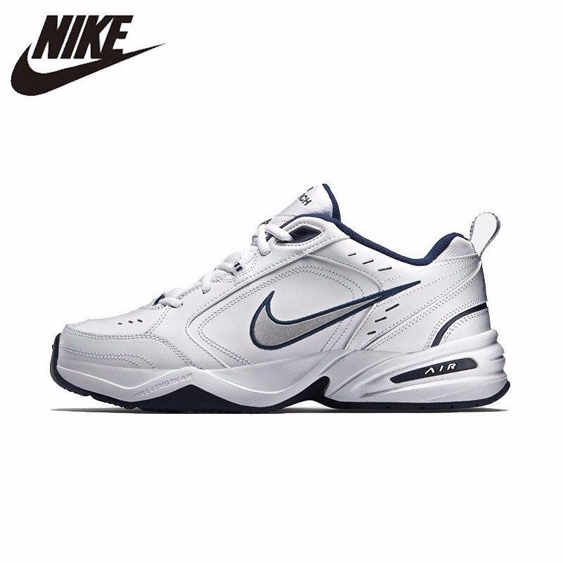 NIKE AIR MONARCA IV Oficial Dos Homens Respiráveis Nova Chegada Correndo Sapatos Confortáveis Sapatos de Desporto Ao Ar Livre Sapatilhas #415445