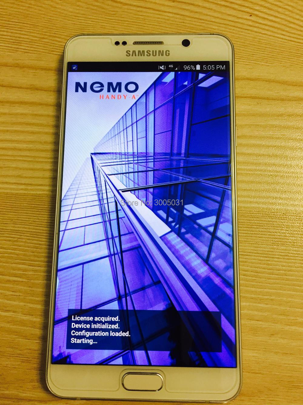 note5 N920I nemo handy & Note5 N920i NMR , support 2CA & 3CA , volte ,polqa and qesq MOS .. ect test+ Free ship