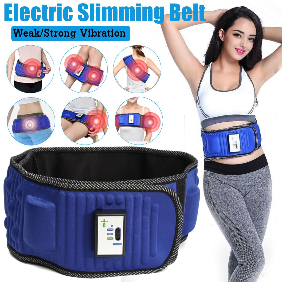 Electric Slimming Belt Lose Weight Fitness Massage X5 Times Sway Vibration Abdominal Belly Muscle Waist Trainer StimulatorElectric Slimming Belt Lose Weight Fitness Massage X5 Times Sway Vibration Abdominal Belly Muscle Waist Trainer Stimulator