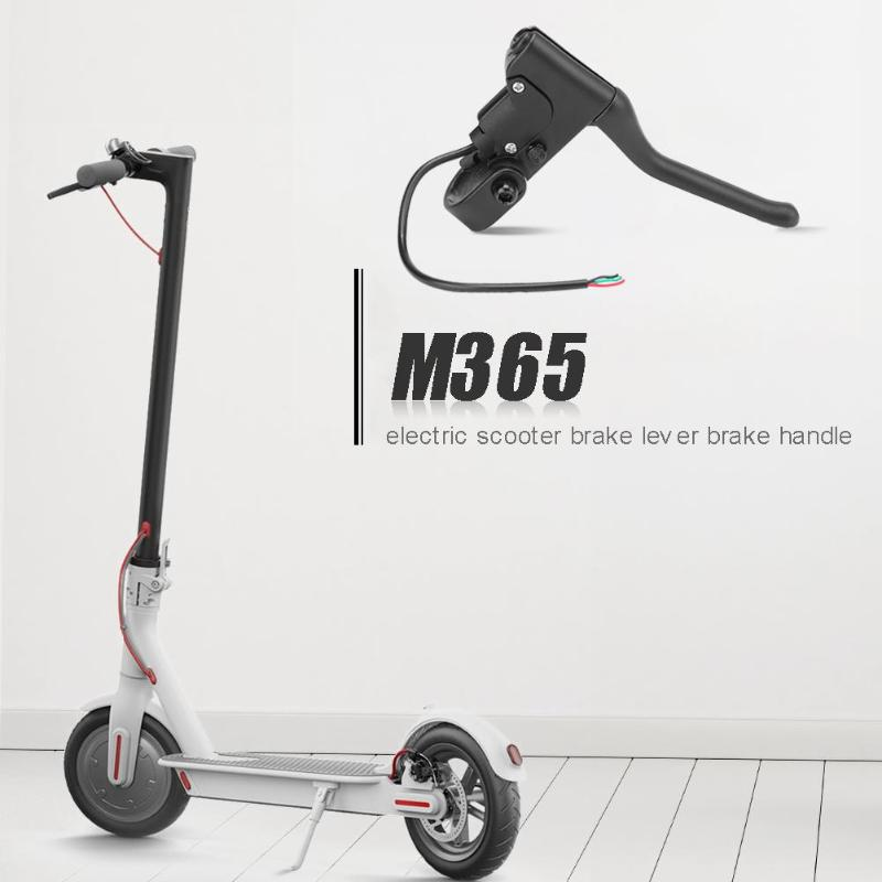Electric Scooter Brake Handle With Line For Xiaomi Mijia M365 PRO Aluminum Alloy Brake Lever Skateboard Riding Accessories
