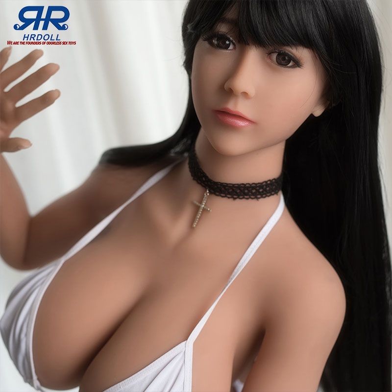 Soft full Silicone <font><b>Sex</b></font> <font><b>Doll</b></font> 155cm beautiful gril sexy toys For Men Big Breast Big Ass adult love <font><b>doll</b></font> Realistic Oral Vagina Anal image