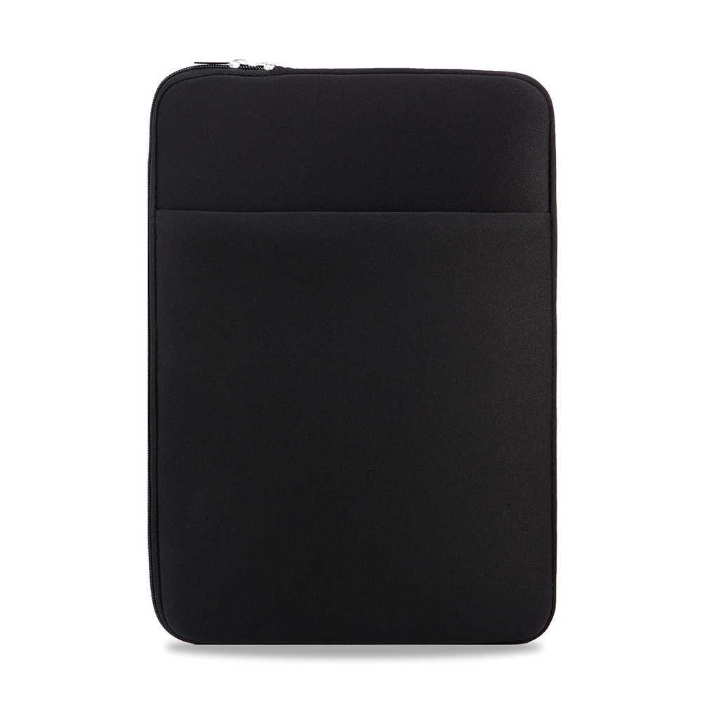 B2015 мягкий чехол на молнии для ноутбука 11 12 13 14 15 15,6 дюймов, чехол для MacBook Air Pro, ультрабук, ноутбук, планшет