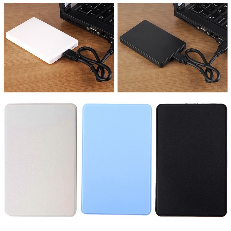 "3 Colors 2.5"" USB 3.0 SATA HDD Box HDD Hard Disk Drive External HDD Enclosure Case"