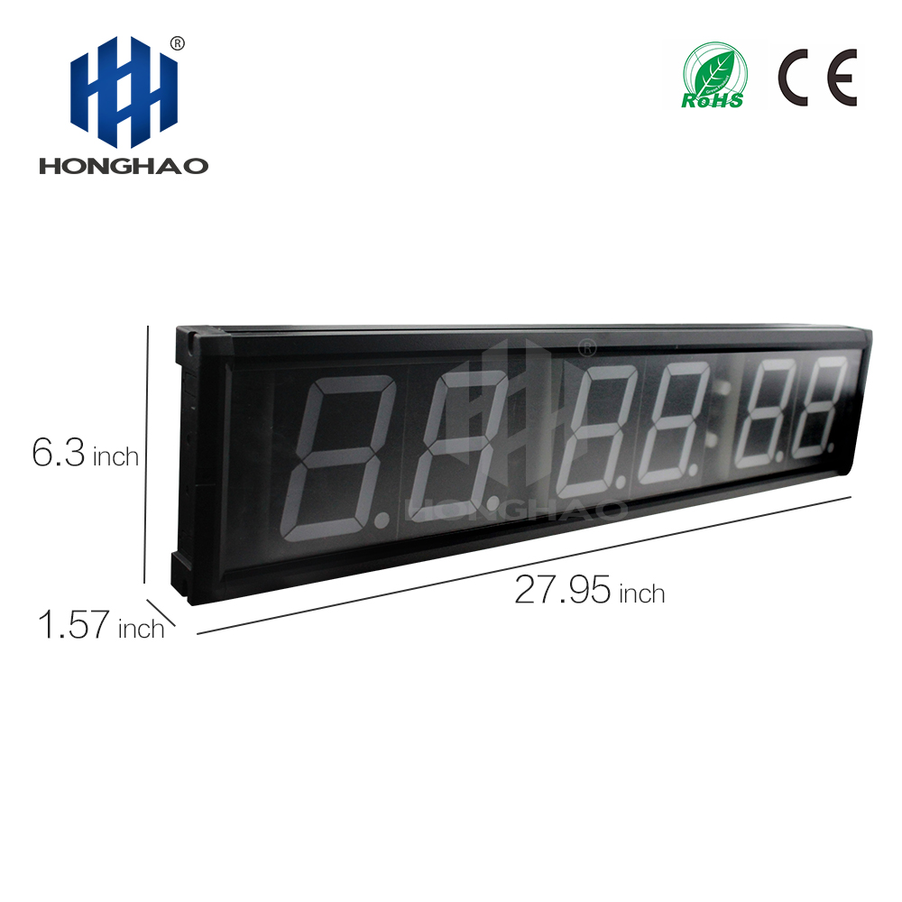 4 39 39 WODs Training Fitness Tabata Crossfit Timer Programmable LED Interval Timer in Wall Clocks from Home amp Garden