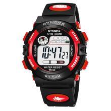 купить Kids Boys Sports Glow in the Dark Alarm Stopwatch children Digital Electronic Wrist Watch Relojes дешево