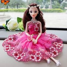 4b794b53226 Toy 11 you colors choose 8inch Floral for 12 Fashion Accessory Gorgeous  Lace 30cm There Doll 3 to Dress are Kids Doll