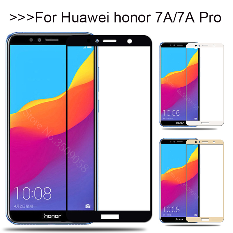 Protective Glass On The For Huawei Honor 7A Pro 7APro A7 7 A Screen Protector Tempered Glass Honor7A Honor7APro Safety Film