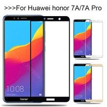 ป้องกันแก้วสำหรับHuawei Honor 7A Pro 7APro A7 7 ป้องกันหน้าจอกระจกนิรภัยHonor7A Honor7AProฟิล์มกระจกนิรภัย