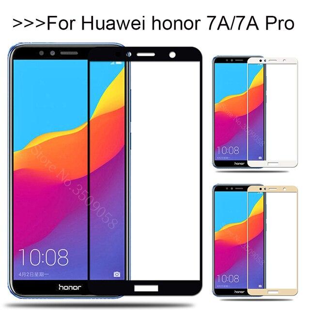Vetro di protezione Per Per Huawei Honor 7A Pro 7APro A7 7 UNA Protezione per Lo Schermo In Vetro Temperato Honor7A Honor7APro pellicola di sicurezza