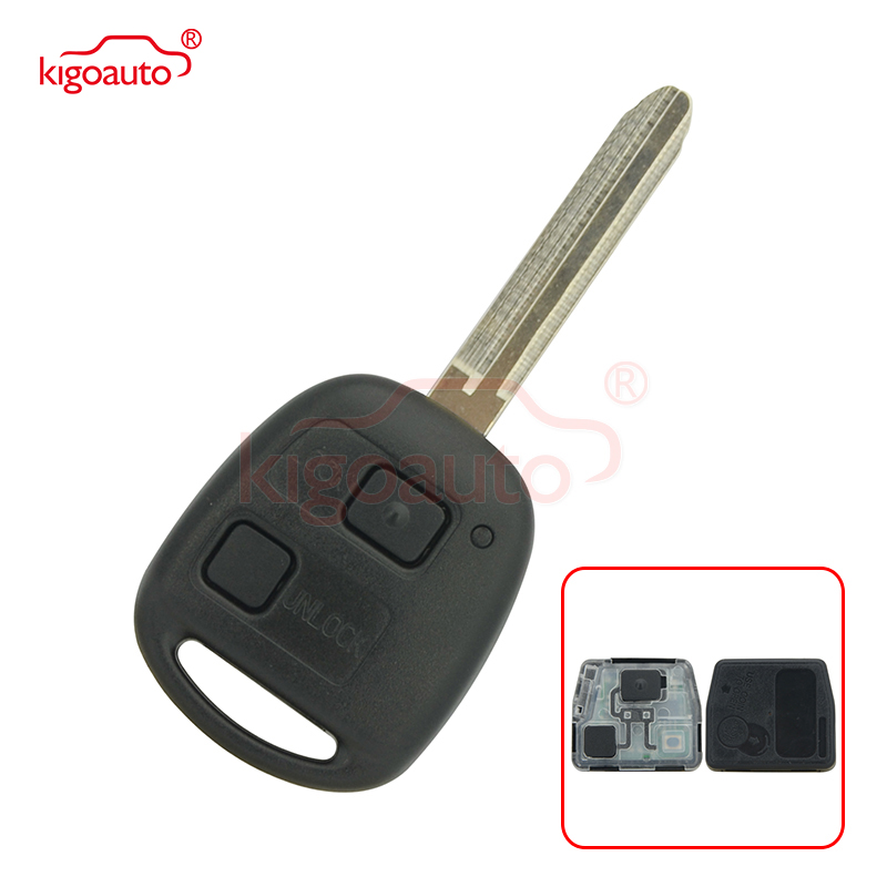 HYQ1512V 3 Buttons Key Fob Compatible with Toyota 2003 2004 2005 2006 2007 Land Cruiser 2008 2009 Fj Cruiser P//N