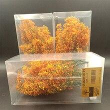 Late Autumn Simulation Tree Miniature Model Vegetation Material Military Platform Situation Train Sand Table DIY Production