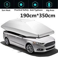 1,9*3,5 м водонепроницаемый открытый автомобильный тент зонтик солнцезащитный покрытие на крышу анти УФ комплект Автомобильный зонтик солнце